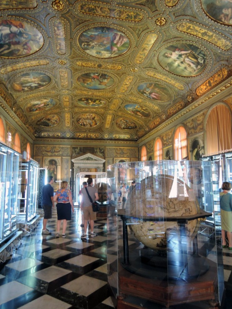 Monumental Rooms of the Biblioteca Marciana