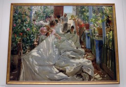 Sewing the Sail by Joaquin Sorolla y Bastida