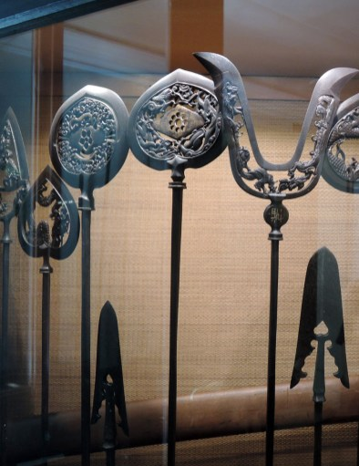 Adorned weapons, Oriental Art Museum Venice