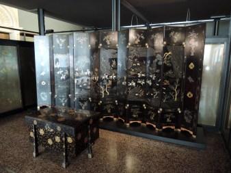 Folding screen, Venice Oriental Art Museum