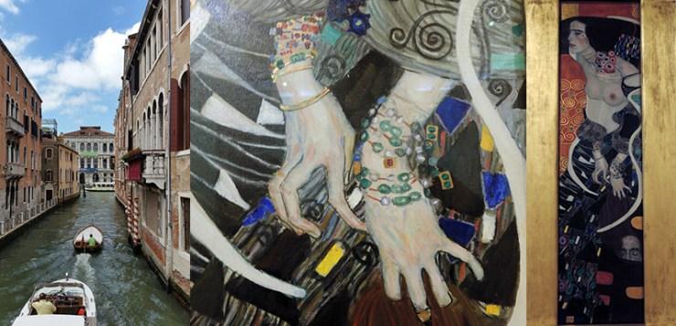 Ca Pesaro and Klimt's Judith