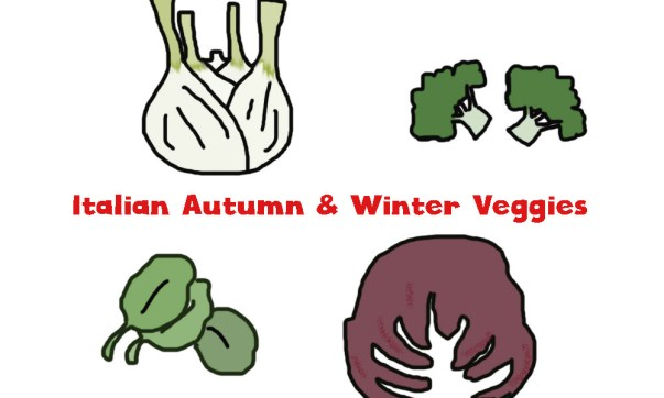 Italian Autumn and Winter Vegetables