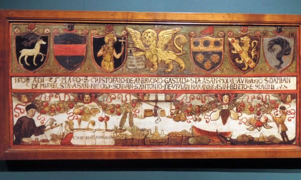 Frutaroli-greengrocers, Venetian Guilds