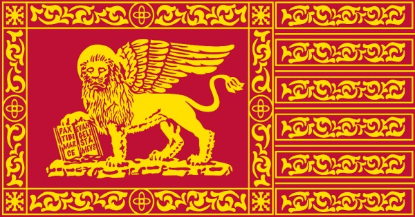 Venetian Flag, St. Mark's Day (pic ©www.bastaitalia.org)