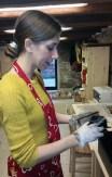 Arianna working