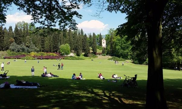 Great Lawn, Sigurta Park
