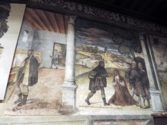 Visit to the infected with the plague and Healing of a infected woman