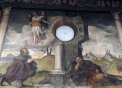 Vision of the Angel and Sleep of San Rocco