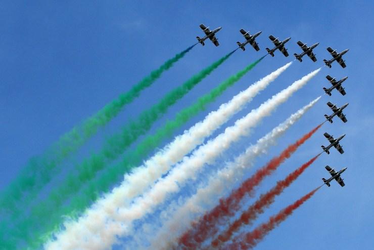 Frecce Tricolori by Airwolfhound
