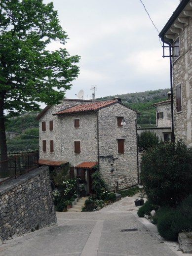 One of the houses