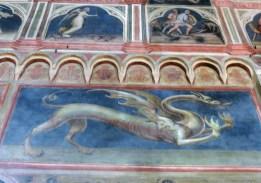 The frescoes