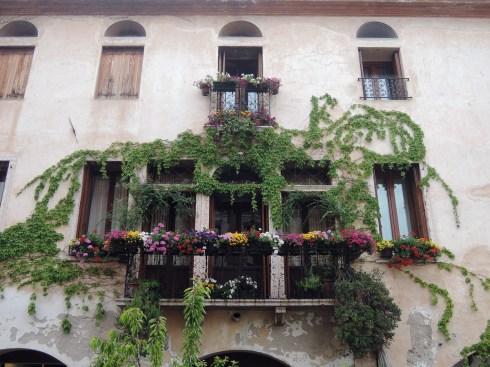 The beautiful balcony