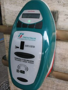 Ticket validating machine, image by www.firenzetoday.it