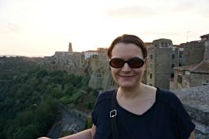 Me in Pitigliano