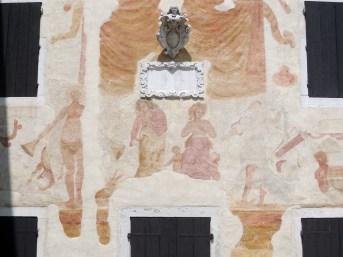 Frescoed Facade