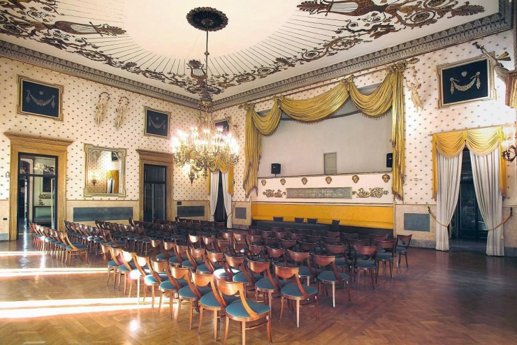 Rossini hall, pic by padovaincoming.it - Pedrocchi Café Museum