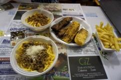 Italian sagra food