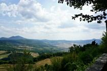 Panorama, Castiglioncello del Trinoro