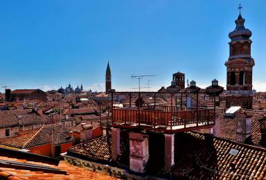 View from T Fondaco by Giulio Fecchio