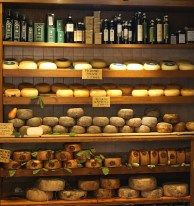 Display of pecorino
