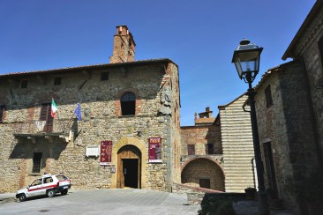 Town Hall of Lucignano