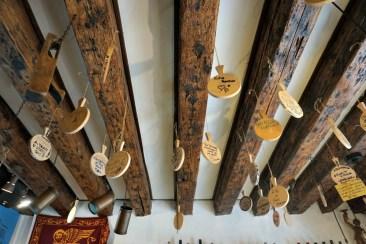 Hostaria Vecio Biavariol ceiling
