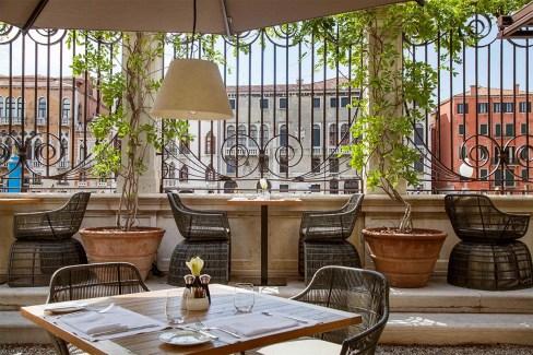 ©Aman Venice - Dining Terrace