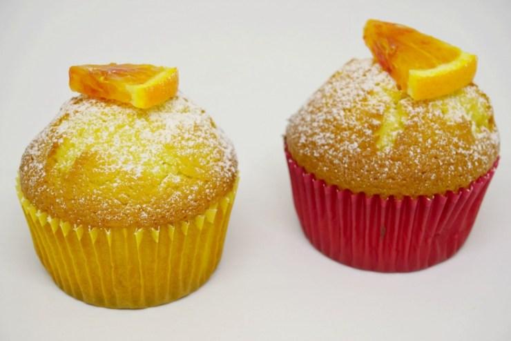 Orange muffins, photo taken with Manfrotto Pixi Evo 2