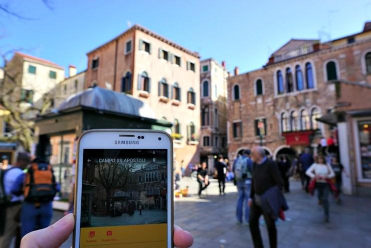 Campo Santi Apostoli, Venice walking tour app Ecco Venezia