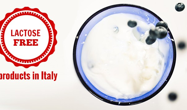 lactose free products in Italy