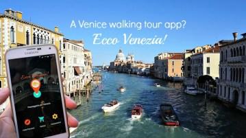 A Venice walking tour app, Ecco Venezia!