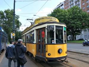 Old Yellow Tram Milan