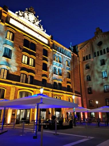 Hilton Molino Stucky at night