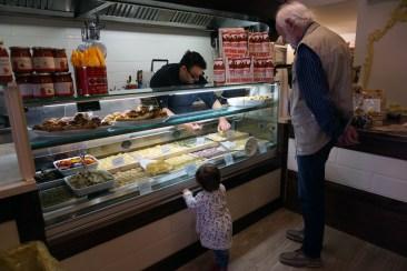 Little customer at La Bottega della Gina