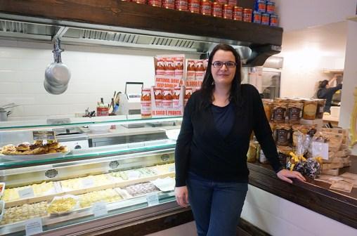 Me at La Bottega della Gina