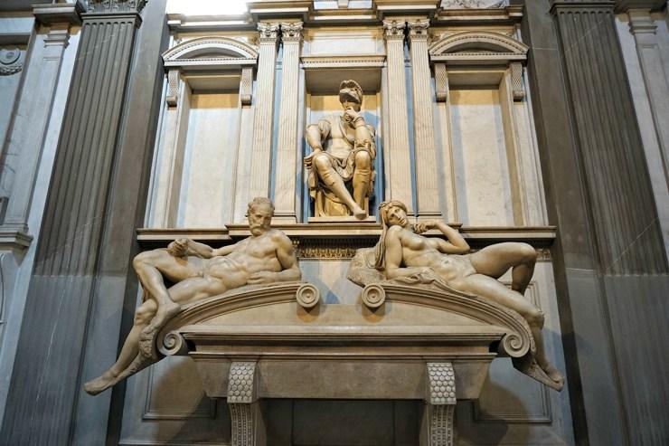 Lorenzo de' Medici, duke of Urbino, Twilight and Dawn