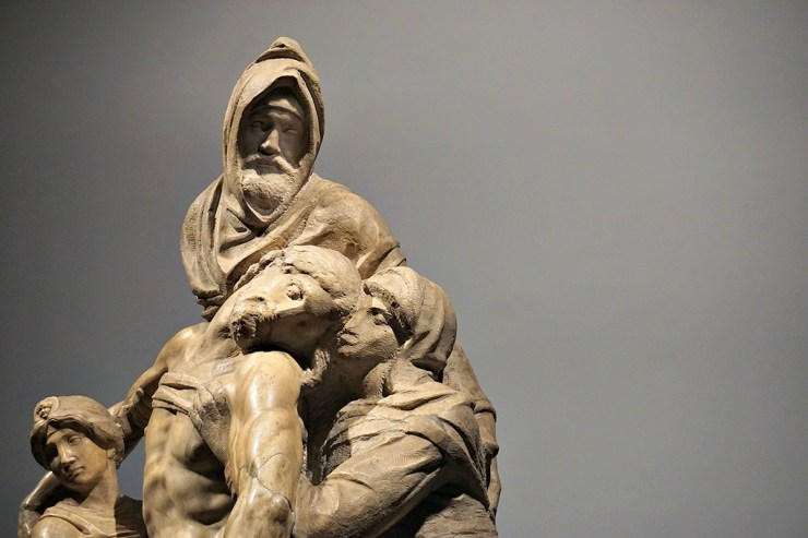 Pietà Bandini by Michelangelo