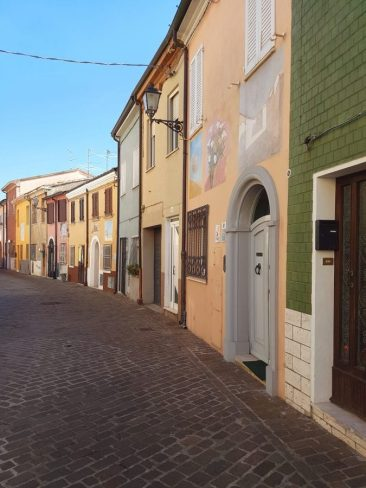 Alley of Borgo San Giuliano