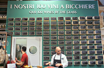 100 wines by the glass