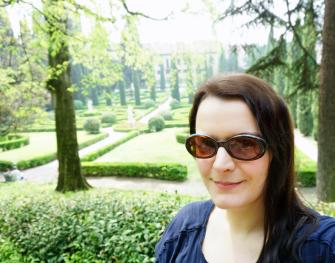 Me in Giusti Garden