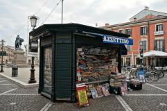 Newspapers kiosk