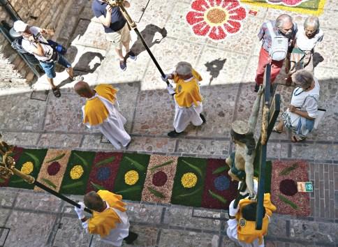 Corpus Domini Procession in Spello