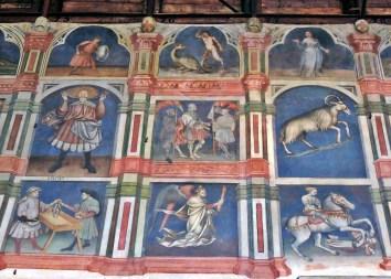 Palazzo della Ragione frescoes