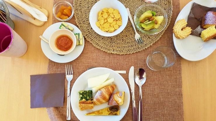 Breakfast at Agriturismo La Palascia