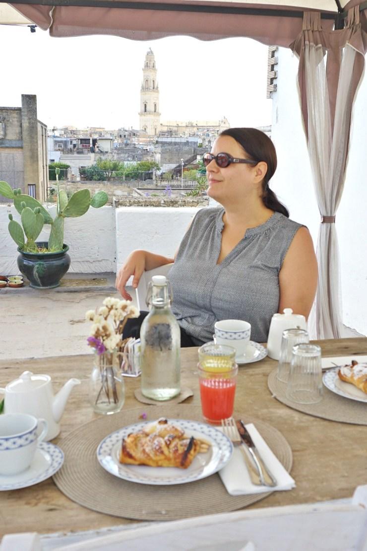Breakfast at Palazzo Belsanti Lecce