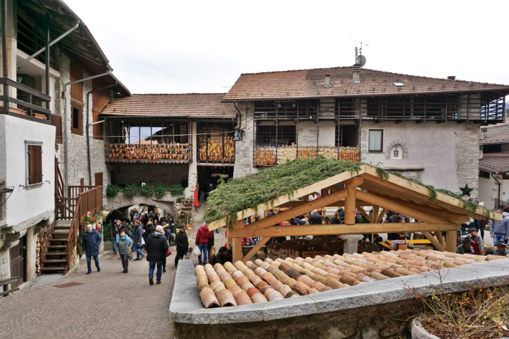 Christmas markets in Trentino: Rango