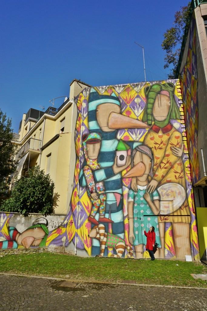 Tony Gallo, Street art in Padua