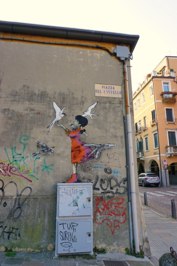 Street art in Padua, Kenny Random