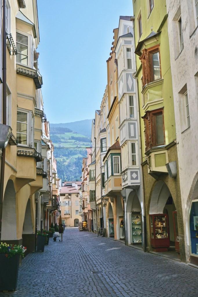 via Portici Maggiori - What to see in Brixen