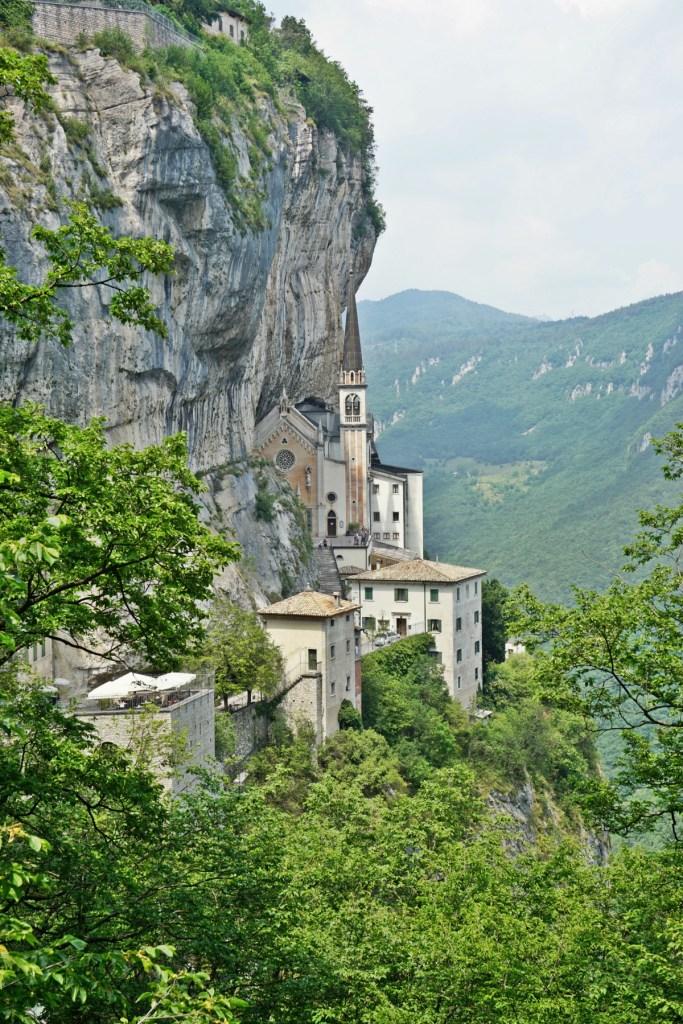 adonna della Corona Sanctuary near Verona